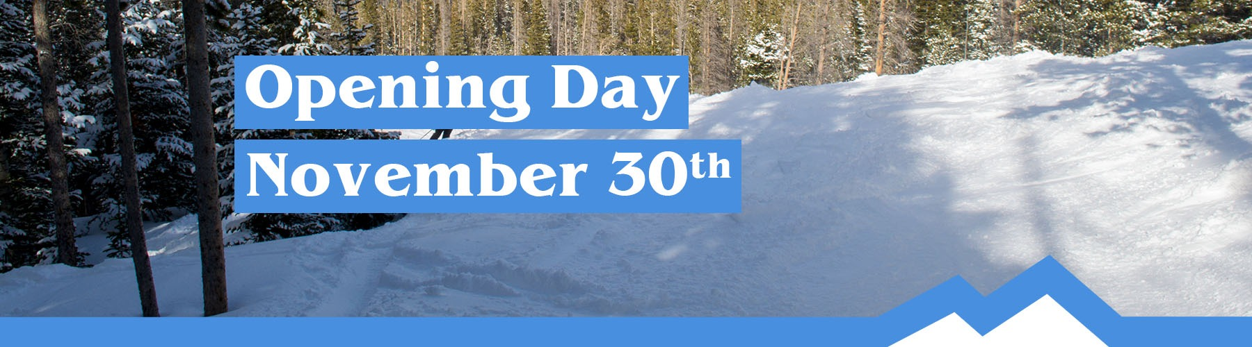 Snowy Range Ski Area Opening Day November 30, 2018