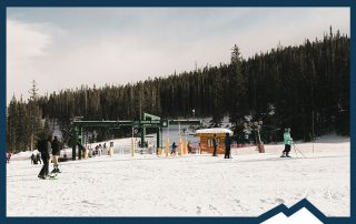 Snowy Range Ski Area near fort collins norther colorado